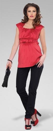 Těhotenské kalhoty SLIM BLACK 721b817f59
